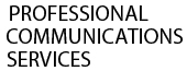 Professional Communications Services